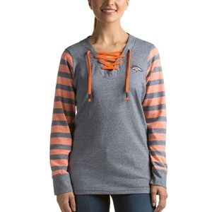 Sweaters - Denver Broncos Striped Sweater